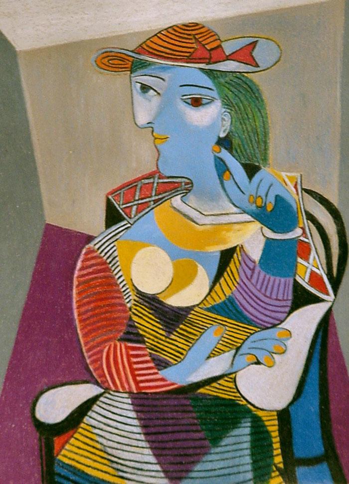 e174e103d رُسمت لوحة امرأة جالسة في بداية عام غزير الإنتاج بالنسبة لبيكاسو بشكل مثير  للدهشة ، حيث أنتج العديد من الإبداعات القوية ، بما في ذلك غرنيكا (1937) ،  وفي هذا ...