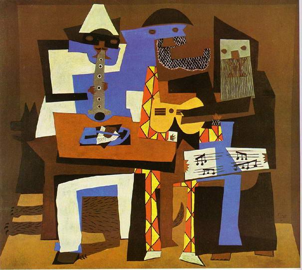 4be036e95 هذا العمل الفني موجود الآن في متحف نيويورك للفن الحديث ، وهو جزء من سلسلة  أعمال قام برسمها بينما كان مع عائلته الصغيرة في فونتينبلو في صيف عام 1921م  ، وهي ...