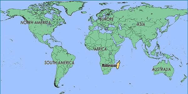 أين تقع مدغشقر البديل