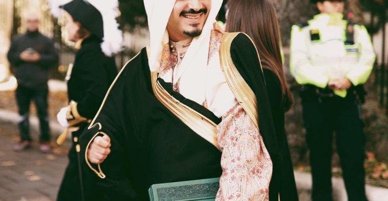 مصورة الأميرة لوسي والأمير خالد بن بندر
